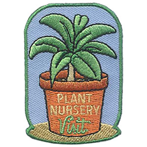 Plant Nursery Visit Patch