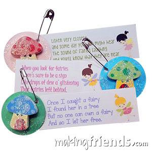Fairy House Girl Scout Friendship SWAP Kit via @gsleader411