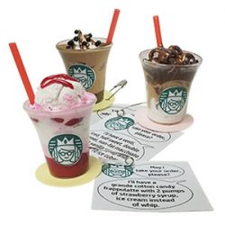 Mini Starbucks Drinks