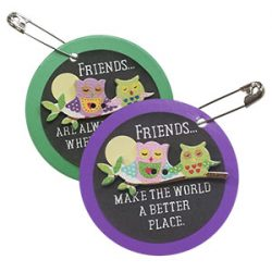 Owl Friendship Girl Scout SWAPs