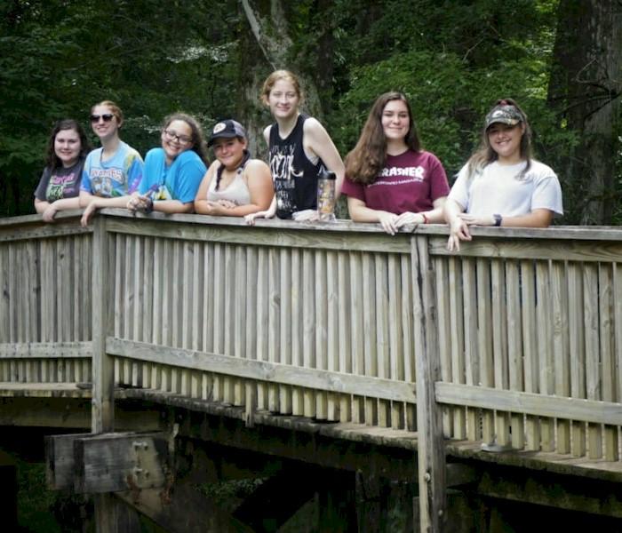 Ambassador Girl Scout Bridging