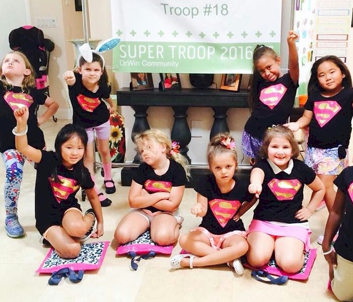 Brownie Girl Scout Super Troop