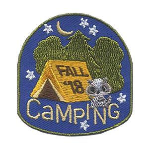 Girl Scout Fall Camping 2018 Fun Patch