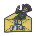 Girl Scout Flat Juliette Low Fun Patch