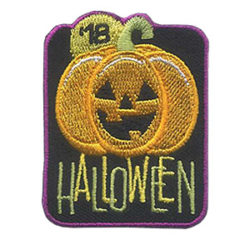 Girl Scout Halloween 2018 Fun Patch
