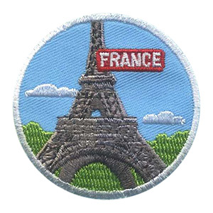 The France Landmark Patchfrom MakingFriends®.com will remind your girls of the fun they had learning about France for their international celebration. See our pageFrance | Ideas for Thinking Day* for additional ideas including friendship swaps, recipes, passports and more. via @gsleader411
