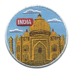 The India Landmark Patch from MakingFriends®.com will remind your girls of the fun they had learning about India for their international celebration. Our page India | Ideas for Thinking Day* has more ideas for costumes, free printables, crafts, friendship swaps and more. via @gsleader411