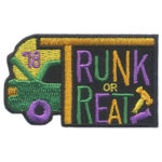 Girl Scout Trunk or Treat 2018 Fun Patch
