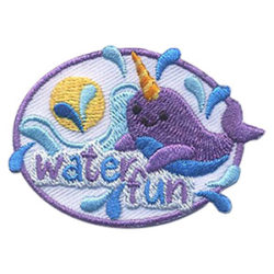 Girl Scout Water Fun Patch