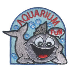 Girl Scout Aquarium Fun Patch