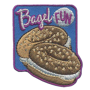 Girl Scout Bagel Fun Patch