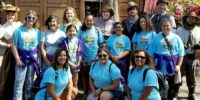 Cadette Troop 5104 from Chino, California earning their amusement park patch!