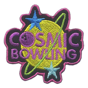 Girl Scout Cosmic Bowling Patch