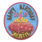 Girl Scout Juliette Low Birthday 2018 Patch