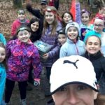 Junior Girl Scouts Fall Camping