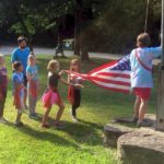 Girl Scouts Flag Raising