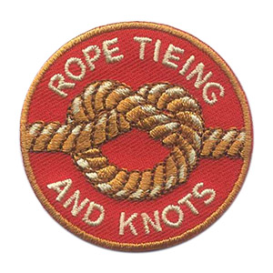 Girl Scout Rope Tieing and Knots Patch