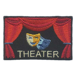 Girl Scout Theater Patch Stage