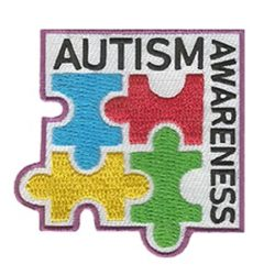 Girl Scout Autism Awareness Patch