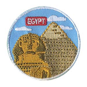 Girl Scout Egypt Landmark Patch