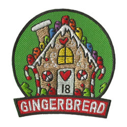 Girl Scout Gingerbread 2018 Fun Patch