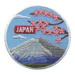 Girl Scout Japan Landmark Patch