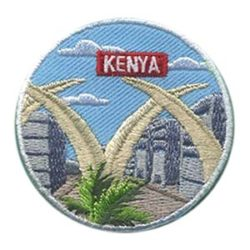 Girl Scout Kenya Landmark Patch