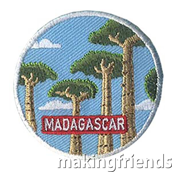 TheMadagascar Landmark Patchfrom MakingFriends®.com will remind your girls of the fun they had learning about Madagascar for their international celebration. $.69 each free shipping available #makingfriends #landmarkpatch #madagascar #internationalpatch #gspatches #funpatches via @gsleader411