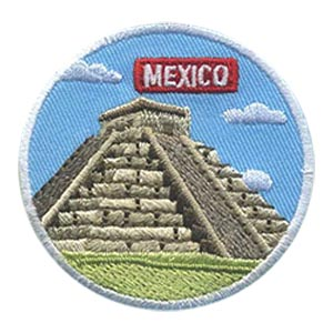 Girl Scout Mexico Landmark Patch