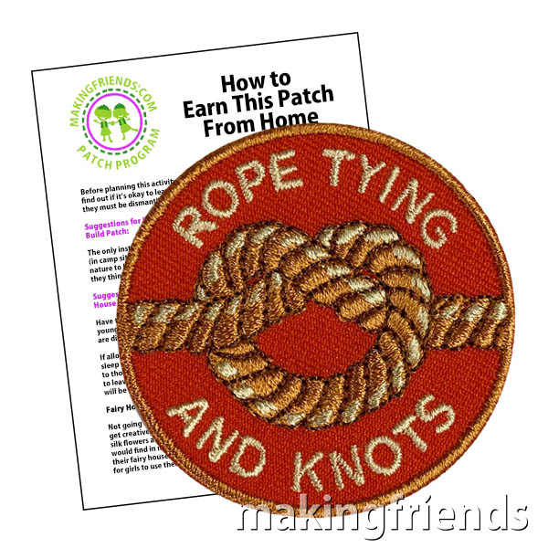 Knot tying can be decorative like macrame or friendship bracelets, but is also a lifesaving skill to have. $.69 each free shipping available #makingfriends #knottying #knots #ropes #ropetying #friendshipbracelets #friendship #lifesaving SDCZ via @gsleader411