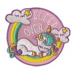 Girl Scout Sleepover Unicorn Patch