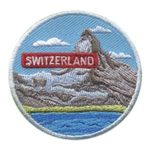 Girl Scout Switzerland Landmark Patch