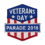 Girl Scout Veterans Day Parade 2018 Fun Patch