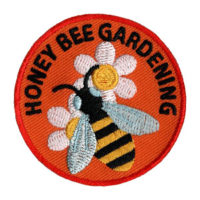 Honey Bee Gardening Scout patch