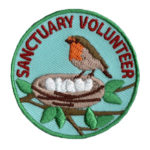 Bird Sanctuary Volunteer Patch