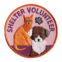 Animal Shelter Volunteer Shelter Patch