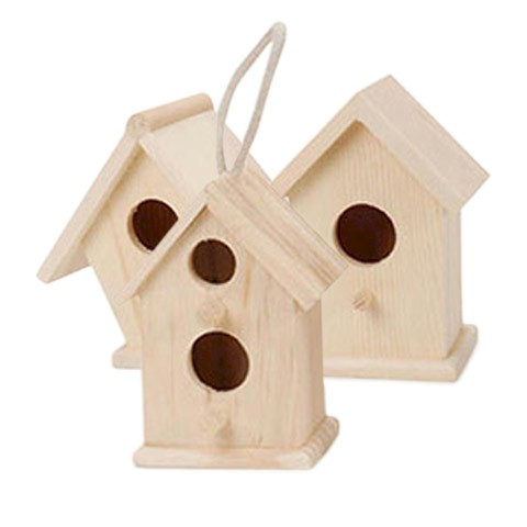 Bird House Set