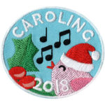 Girl Scout Caroling 2018 Fun Patch