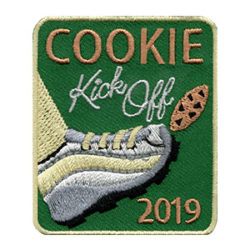 Scout Cookie Kick Off 2019 Patch