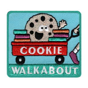 Girl Scout Cookie Walkabout Fun Patch
