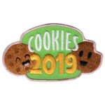 Girl Scout Cookies 2019 Fun Patch