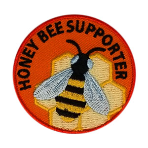Honey Bee Supporter Scout Patch