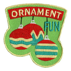 Girl Scout Ornament Fun Patch