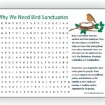Bird Sanctuary Word Search