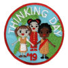 Girl Scout Thinking Day 2019 Circle Fun Patch