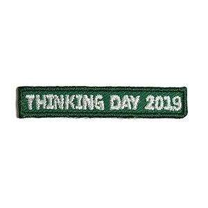 Thinking Day 2019* Add On Patch - Clearance. Pair with our international patches. 