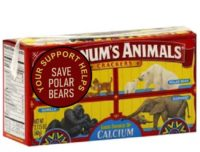 Fundraising with animal crackers.