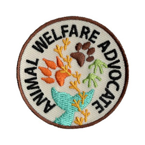 The Animal Welfare Advocate Service Patch is from the Youth Squad Animal Welfare Patch Program®. MakingFriends®.com partnered with Youth Squad to bring you a rewarding community service program with step-by-step instructions for every age level to make a meaningful impact in their community. Earn the animal Welfare Advocate Service Patch by completing all 5 advocate level service patches. This program is designed to be flexible for anyone and any group. Learn more at MakingFriends®.com. via @gsleader411