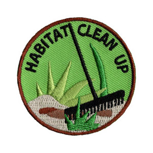Habitat Clean Up Scout Patch