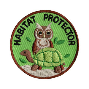 Animal Habitat Protector Scout Patch